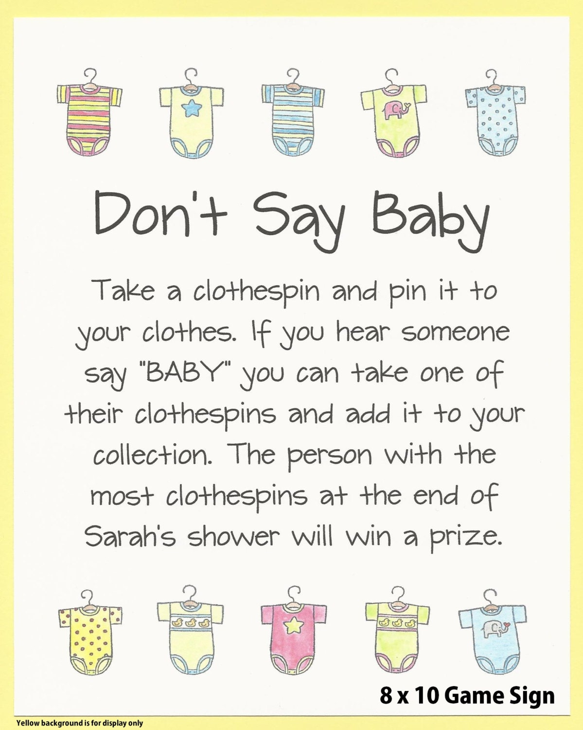 Description. This Is A Baby Shower ...