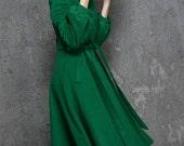 Winter Coats-Coats-Green Wool Coat-Woman Coat-Green Coat-Wool Coat-Maxi Coat-Winter Coat Woman-Green Wool Coat-Winter Coat-Jacket-Coat-1347
