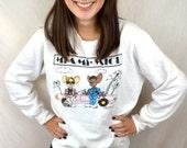 Vintage 80s 1985 Miami Mice Sweatshirt