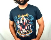 Vintage 1988 Def Leppard Tour Tee Shirt - Hysteria