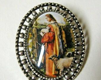 The good shepherd brooch/pin - AP02-006