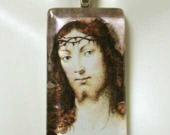Christ pendant with chain - GP01-668