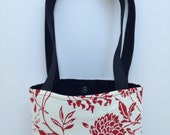 Small Purse Bag in Red and Black