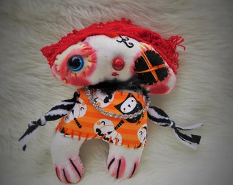 Matey the Pirate- an original Ratty Tatty Monster