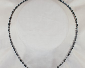 Stay on the Ground Hematite Necklace
