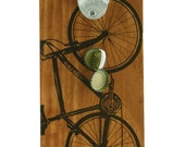 Bicycle. Bottle Opener with Magnetic Cap Catcher.100% Made in USA. Bike art by MATLEY. Hand Crafted In USA. Housewarming gift. Wedding.