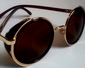 Steampunk Goggle Sunglasses Vintage inspired Rockerchic