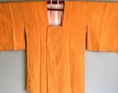 1960s GOLD MICHIYUKI Cropped KIMONO Jacket Boho
