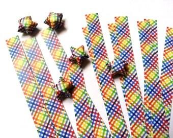 Lucky Stars Paper Strips - Rainbow Strips