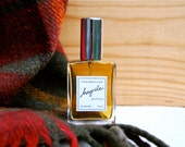HAYRIDE perfume - all natural fall fragrance with notes of apple, smoke, amber, and sandalwood in organic alcohol