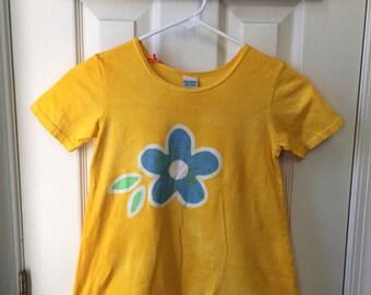 Girls Easter Dress, Easter Sunday Dress, Yellow Easter Dress, Yellow Girls Dress, Girls Flower Dress, Yellow Flower Girls Dress (6)