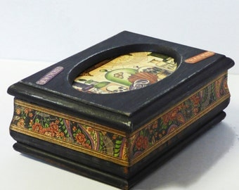 Small Jewelry Box - Cabinet of Curiosities - Creepy Cute Trinket Box - Upcycled Jewelry Box