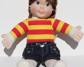 Vintage My Buddy 1990 Playskool Hasbro Brown Hair Boy Doll