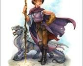 Elven Magic-Print
