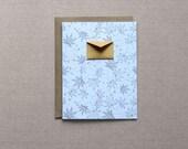 Set of 8 Folded Cards Box Set - Autumn Maple Leaves