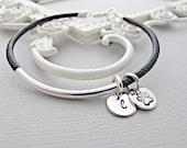 Paw Print Bracelet, Personalized Cat or Dog Jewelry, Paw Print Jewelry,  Pet Memorial Bracelet, Hand Stamped, Custom Pet Bracelet, Engraved