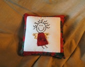 "Angel Mini Pillow and ""Sweet Angels"" Poem"