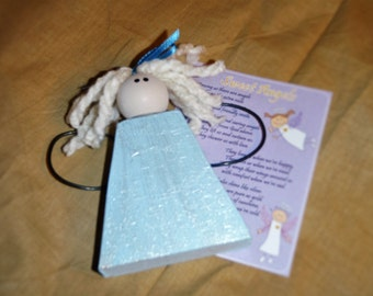 Sweet Angels Ornament and Poem (single package)