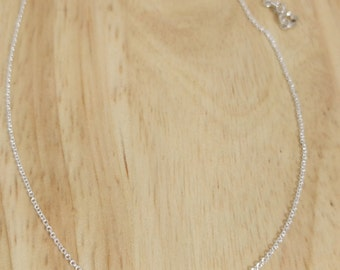 Dainty Star Necklace - Tiny Silver Star Charm - Delicate Layered Necklace - Minimalist Thin Chain - Simple Everyday Small - Sterling Gift
