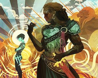 Iron Aria poster 11x17