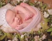 PDF Knitting Pattern - Knit Bonnet Pattern - Newborn Photo Prop Pattern