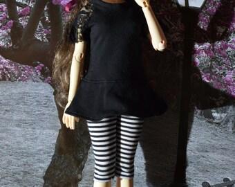 MSD Iplehouse JID dress t-shirt + leggings black