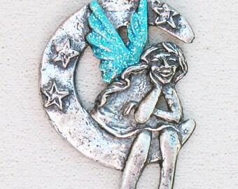 Wish Processed Fairy Pendant