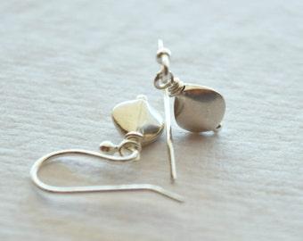 Thai Silver Teardrop Earrings