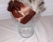 Stunning Vintage Feather Headband Style Hat