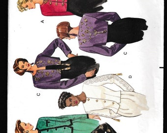 Butterick 5117 Misses Jacket with Purchased Decorative Trim