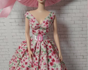 Handmade OOAK Dress for Silkstone Barbie Doll