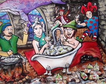 Bathtub Gin Print