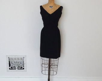 Vintage 1960s Dress - 60s Party Dress - The Adrienne