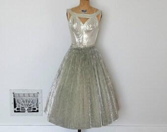 Vintage 50s Dress - 1950s Party Dress - The Jacqueline