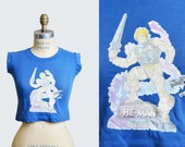 80s He-Man Masters of the Universe TShirt, xs