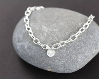 Chain Bracelet Wholesale, 925 Sterling Silver Bracelets Finished, 8 inches, Discounted Quantities 5 10 20 units 20% off