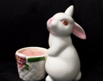 Avon 1980 Easter Bunny Candle