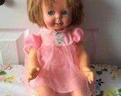 Mattel Baby See 'N Say Doll 1966