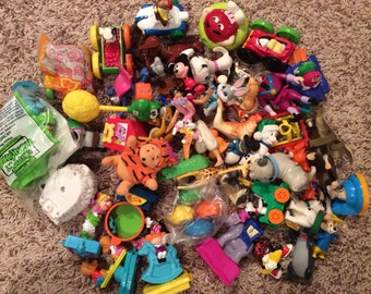 DESTASH - 50-Piece Misc. Toy Lot