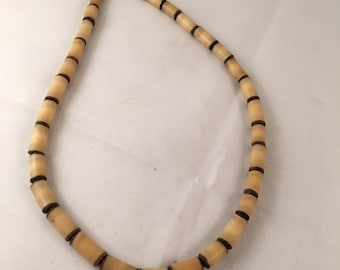 Vintage Beaded Shell Necklace