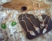 Seneca Lake Glass Sterling Silver Earring Hooks
