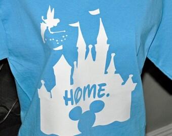 Disney Inspired Home Shirt Castle Shirt Adult