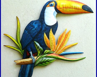Tropical Metal Wall Art Classy Metal Wall Art Tropical Wall Art Painted Metal Frog Inspiration