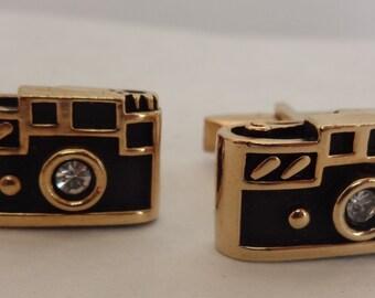Swank Camera Cuff Links