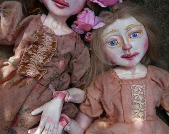 Custom Art Doll, Personalized Jointed and Sculpted Art Doll Inspired by Your Favorite Story, Song, Poem or Play