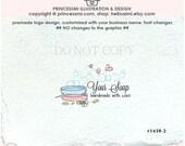1439-2 SOAP logo design,  handmade soap logo, beauty handmade soap, business logo boutique by princessmi