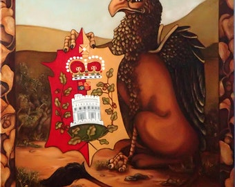 The Queen's Beasts The Griffin of Edward III