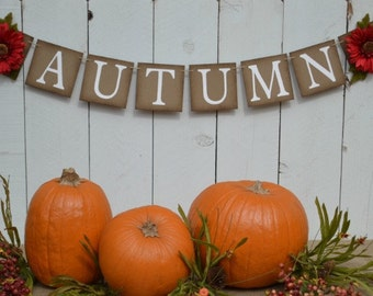 Autumn Banner  ..  Fall   ..  Sign  ..  Decoration ..  Thanksgiving  ..  Harvest