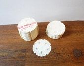 Set of Vintage Mini Paper Doilies Wedding Decor