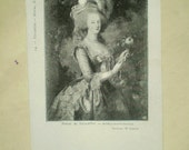 Marie Antoinette - Early 1900s - Musee de Versailles - Antique French Postcard